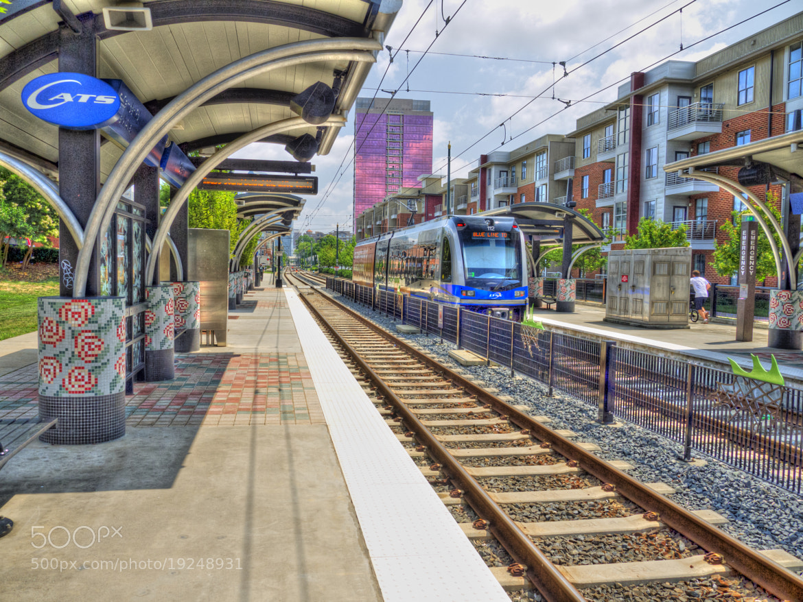 Photograph Blue Line by Ken McCall on 500px