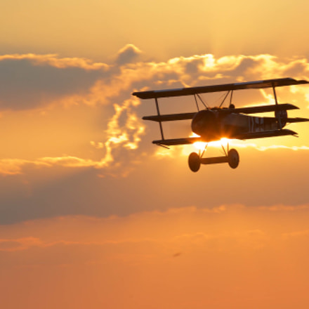 Fokker Triplane, Canon EOS-1D MARK IV, Canon EF 70-200mm f/4L IS