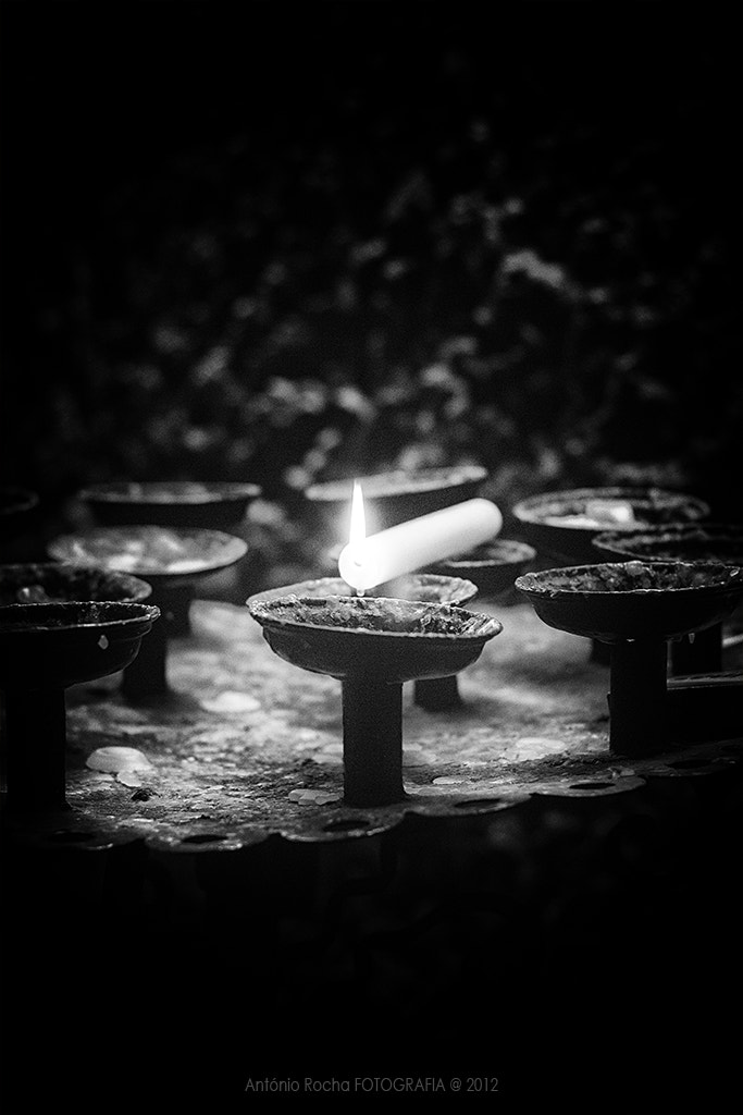 Photograph A candle in my future... by António Rocha on 500px
