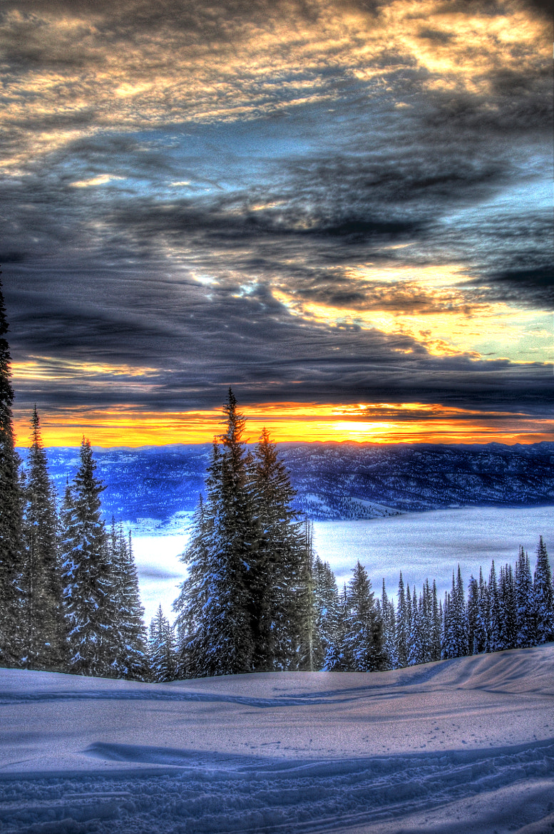 Photograph Sunrise from West Mountain, Donnelly, Idaho by David Ryan on 500px