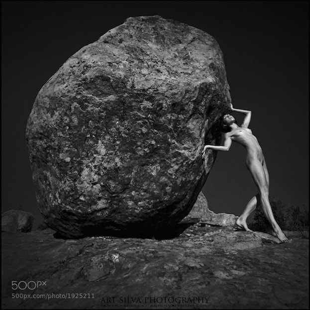 Photograph Modern Sisyphus by Art Silva  ...and my ArtNudes on 500px