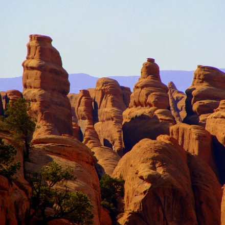 Arches National Park, Sony DSC-H10