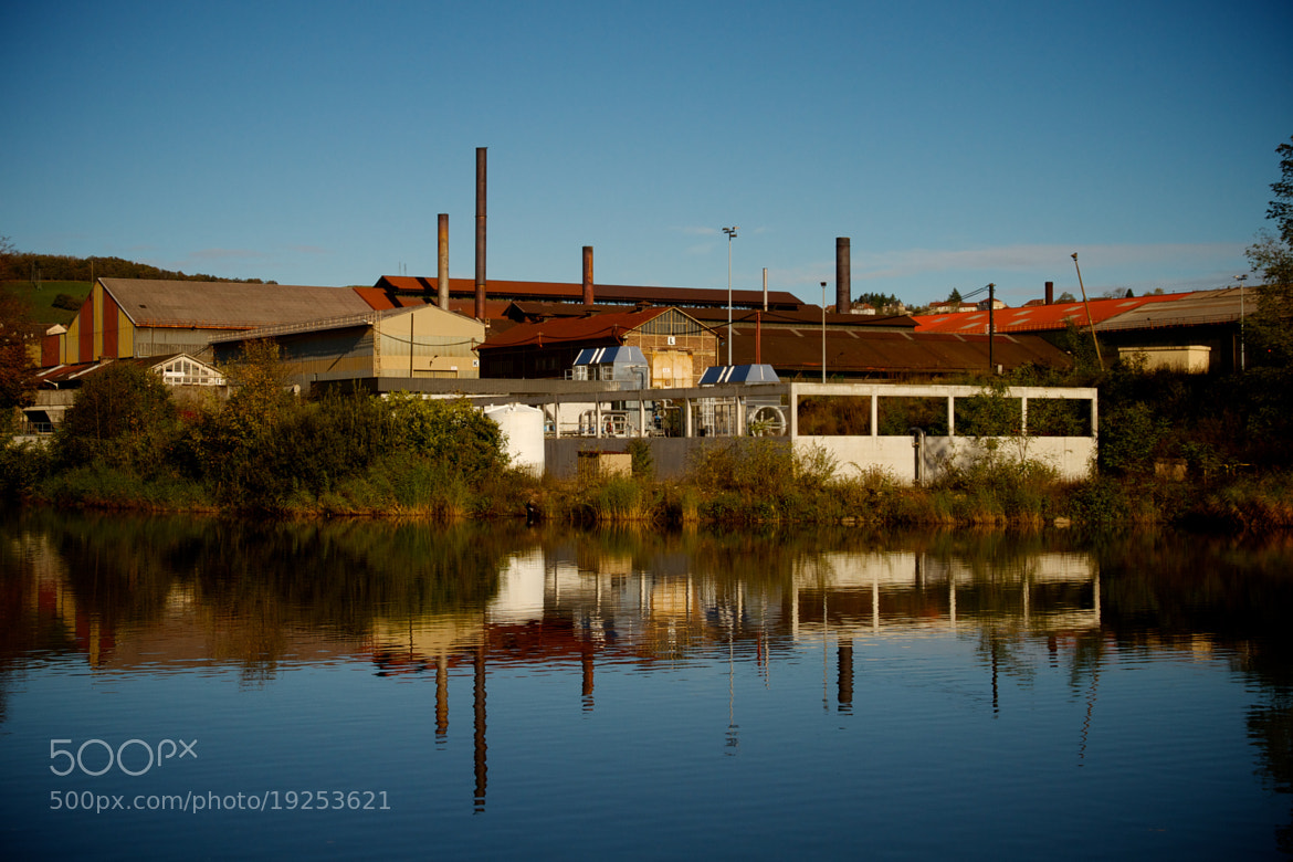Photograph Industrial reflexion  by Julien Jasseny on 500px