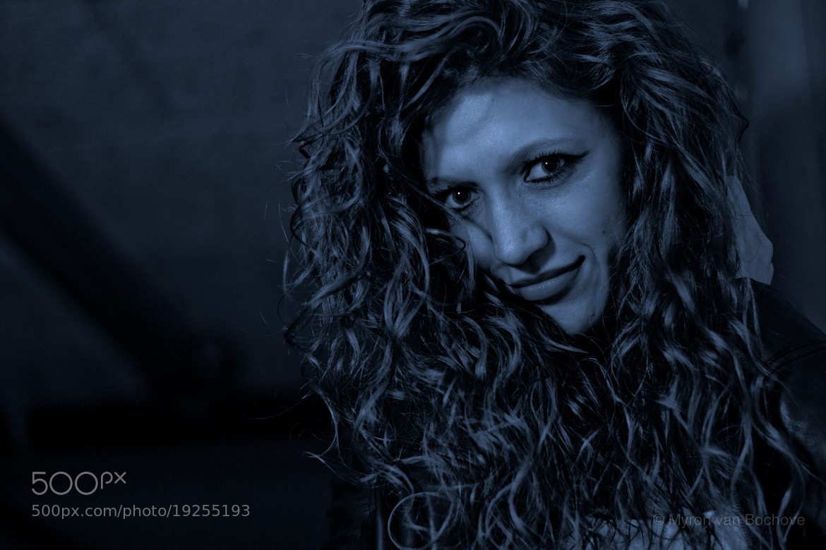 Photograph the curls herself by Myron van Bochove on 500px