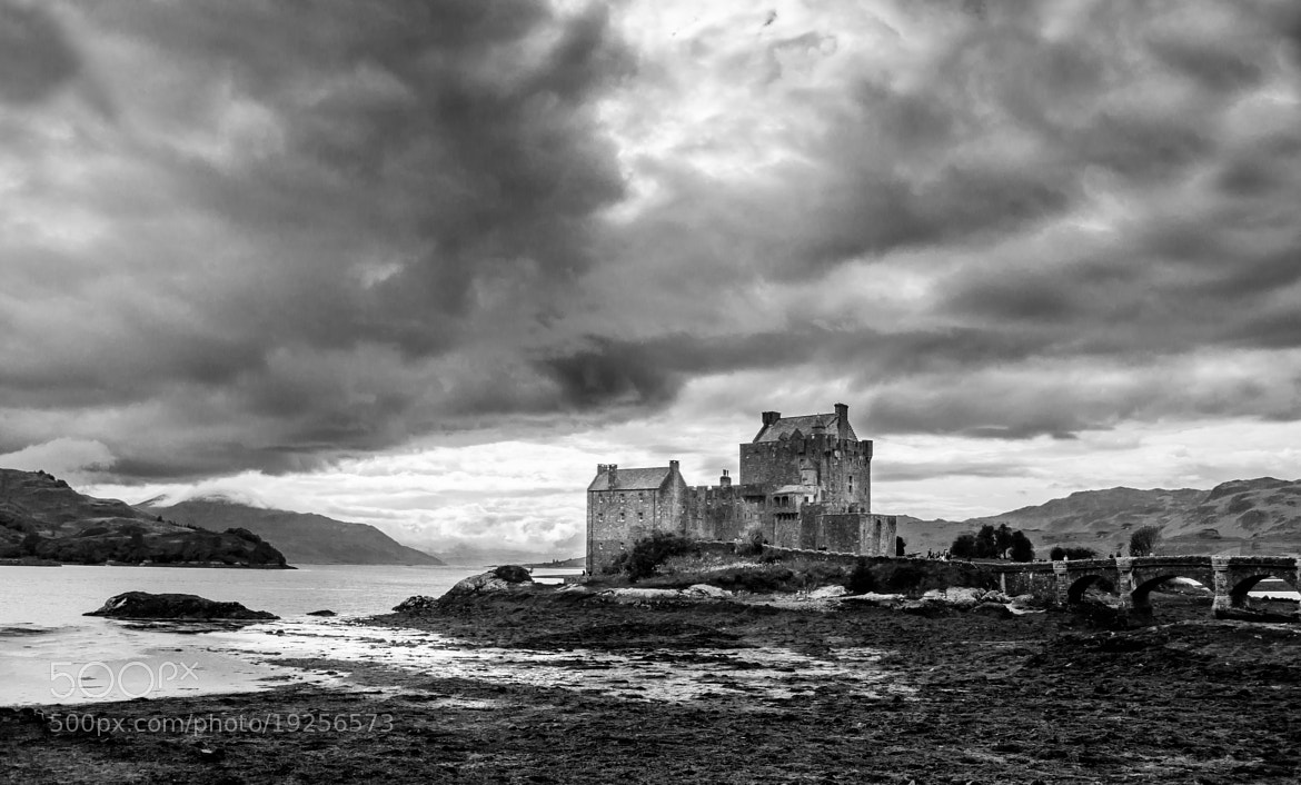 Photograph cloudy eilean by Angel Garrell-Munne on 500px
