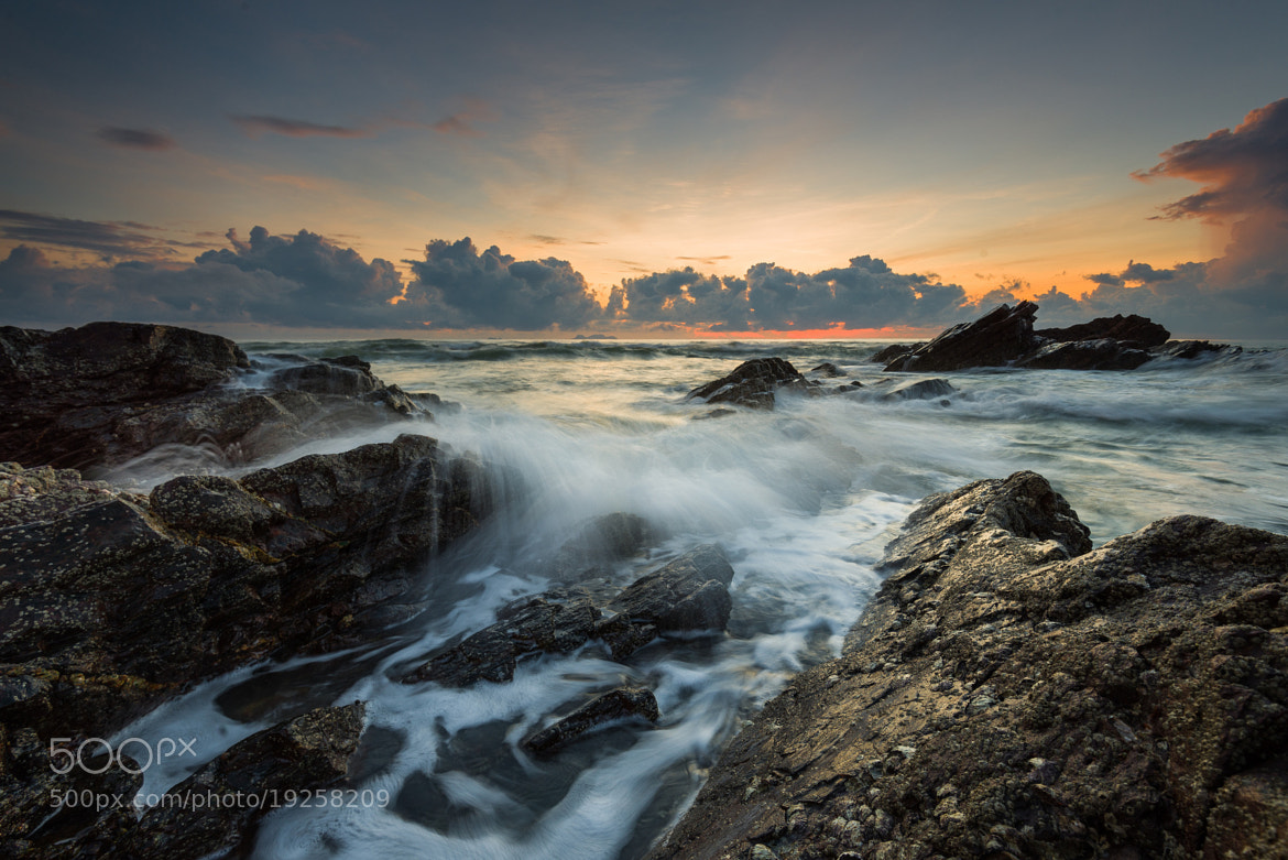 Photograph Morning Wave by Yusri Salleh on 500px