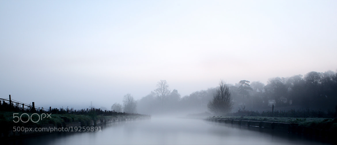 Photograph A Misty Morning on the Marshes by Robert K. Baggs on 500px