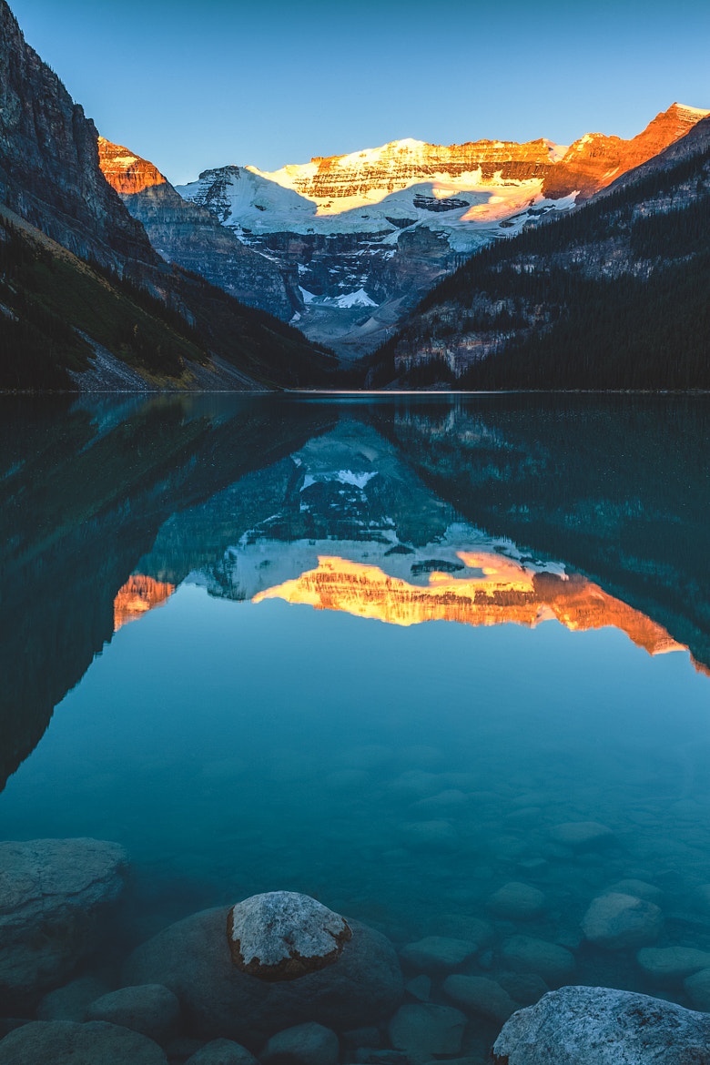 Photograph Lake Louise at Sunrise by Daniel Guinn on 500px