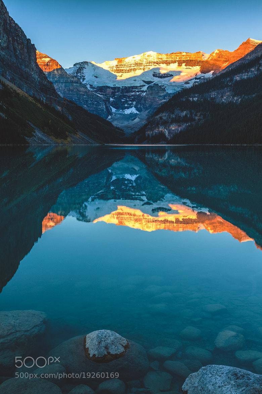 Photograph Lake Louise at Sunrise by Daniel Guinn on 500px