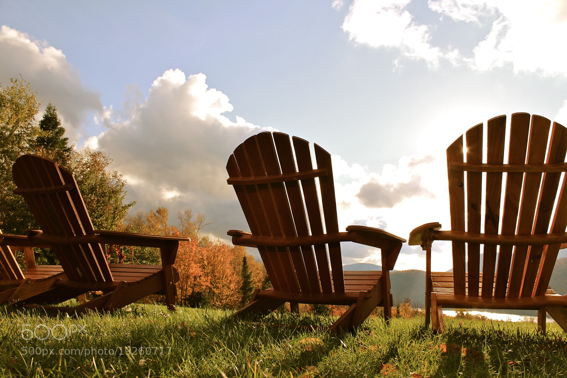 Photograph Adirondack Chairs by Evan Williams on 500px