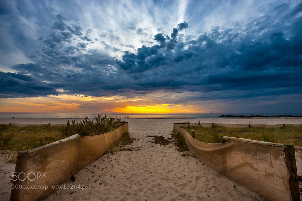 Photograph Sand and Sunset::HDR by Ikhwan Zailani on 500px
