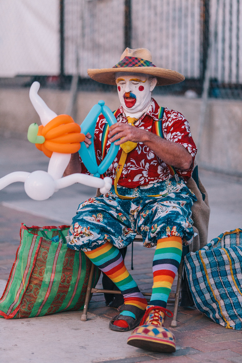 Photograph Clown by Chee Sim on 500px