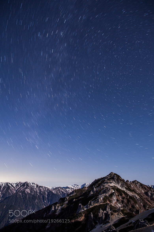 Photograph Moonlit night of Mt. Tsubakurodake  by Noriko Tabuchi on 500px