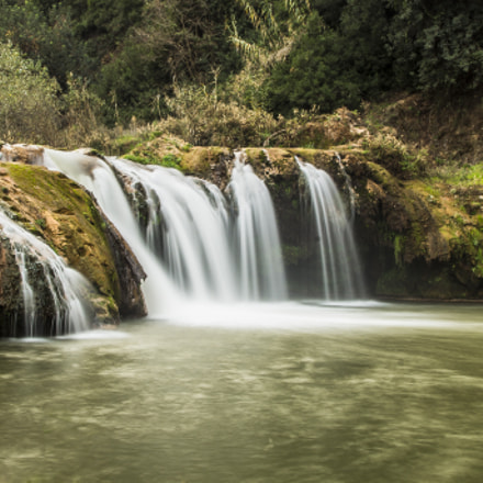 Waterfall In Morocco, Canon EOS 600D, Canon EF 17-35mm f/2.8L