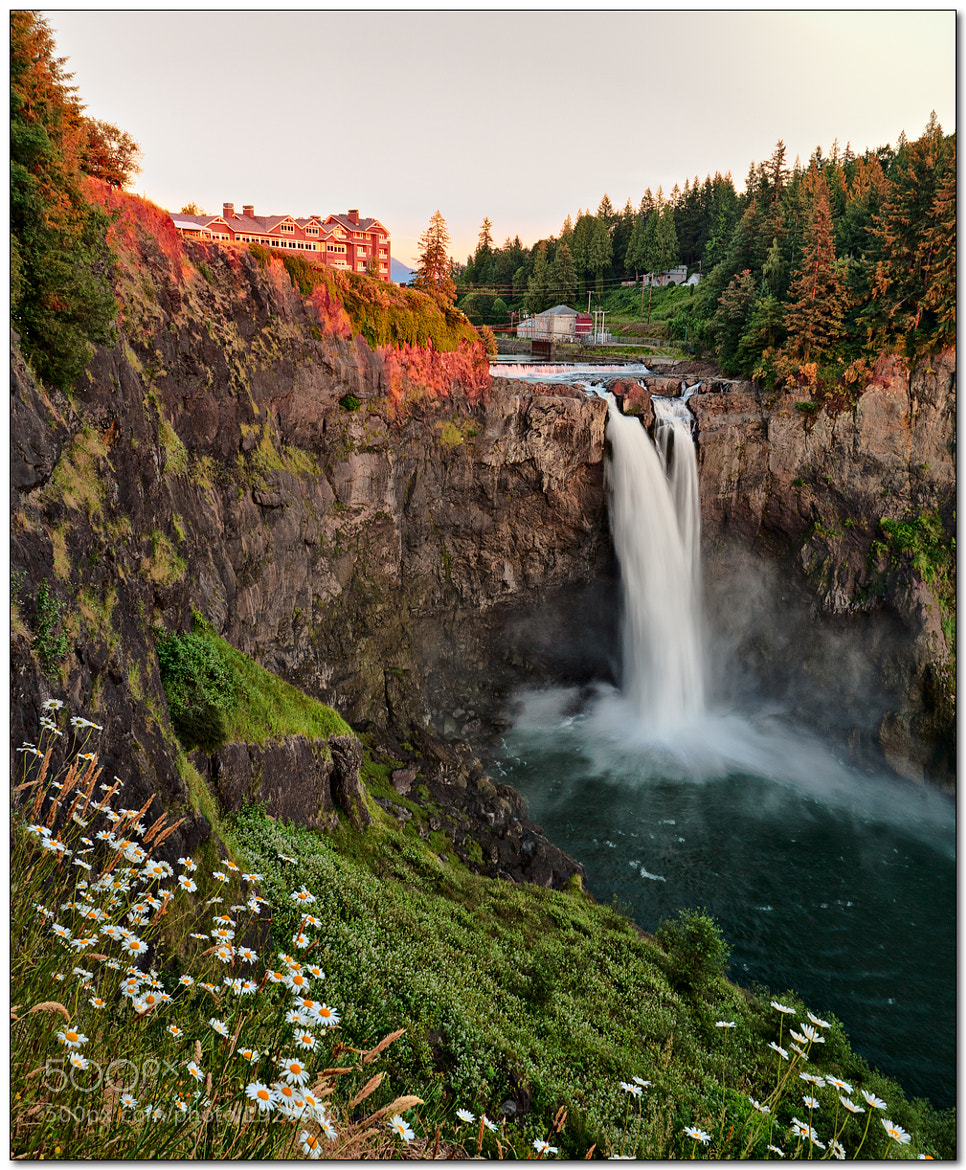 Photograph Snoqualmie Falls, Washington by Jameel Hyder on 500px