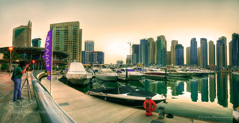 Photograph Dubai Marina by Ernie Manzano on 500px