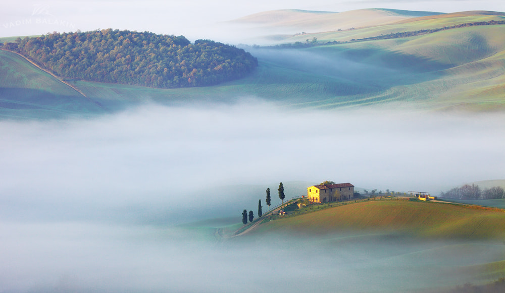 Photograph Val d'Orcia sunrise by Vadim Balakin on 500px