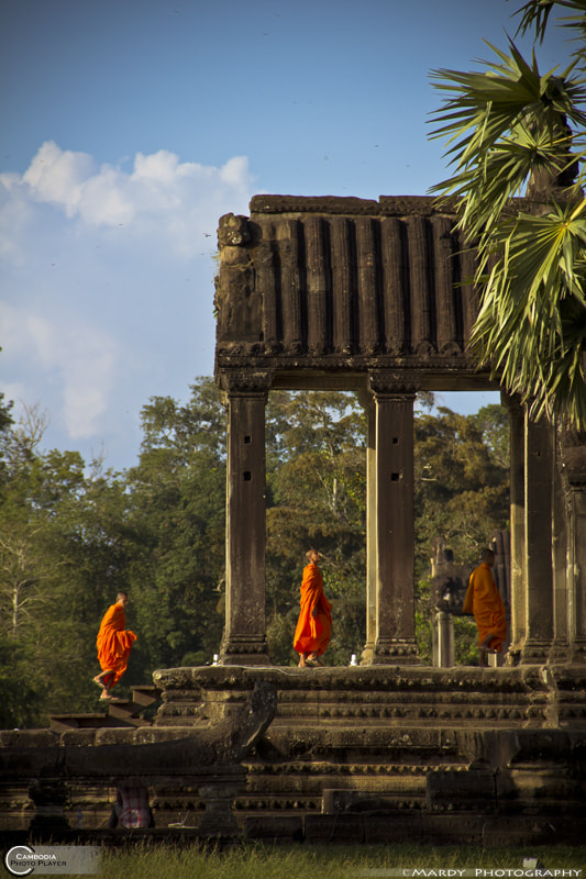 Photograph The Monk In the Column! by Mardy Suong Photography on 500px
