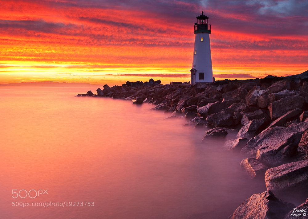 Photograph Lighthouse of fire by Dmitri Fomin on 500px