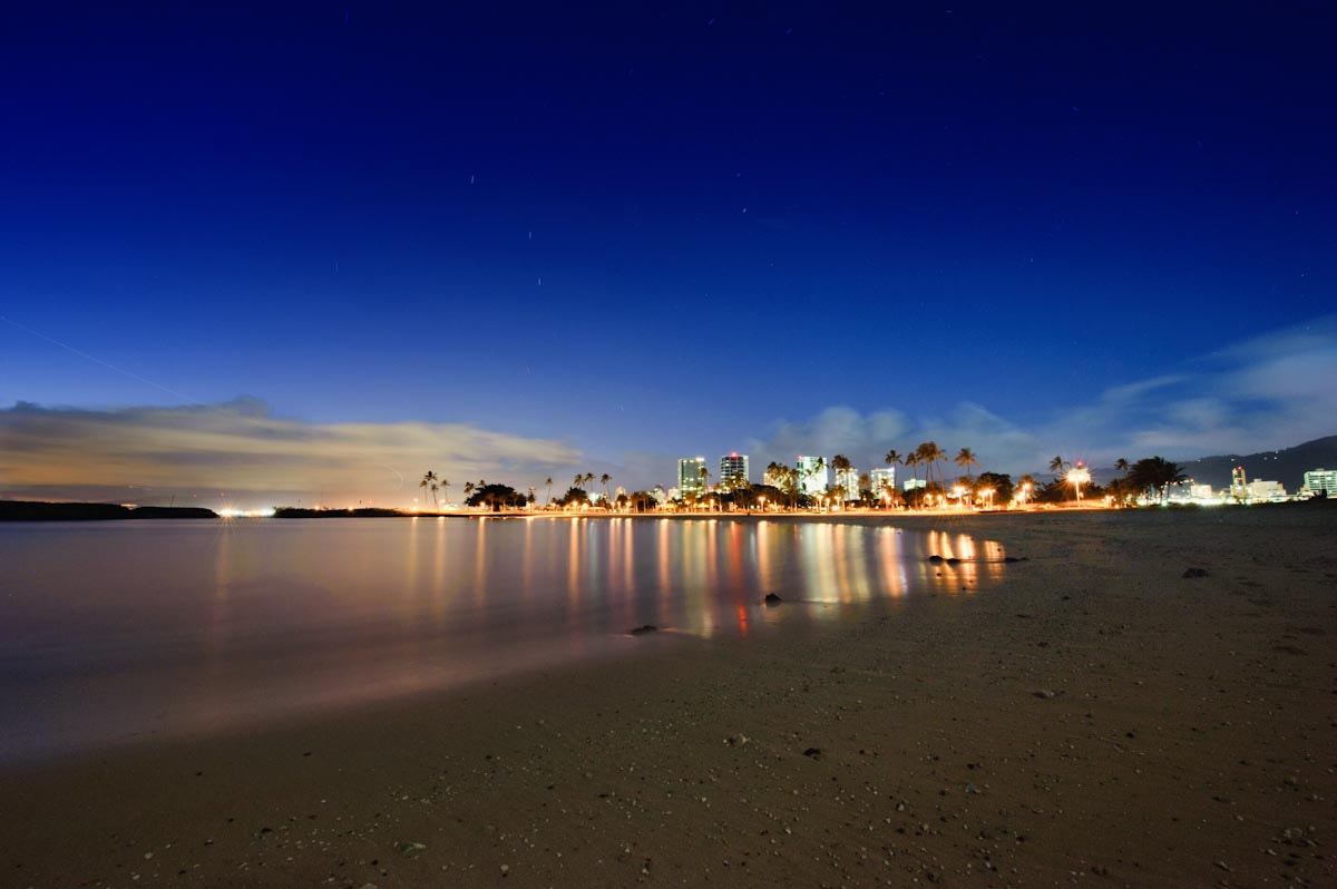 Photograph Honolulu from Magic Island by Marshall Humble on 500px