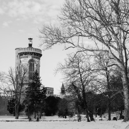 Laxenburg in Black&White, Panasonic DMC-L1, Leica D Summilux 25mm F1.4 Asph.