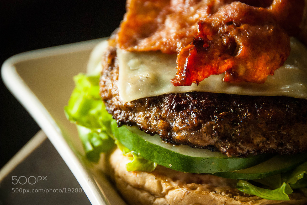 Photograph DJ Bacon Cheese Burger by Jupert Sison on 500px