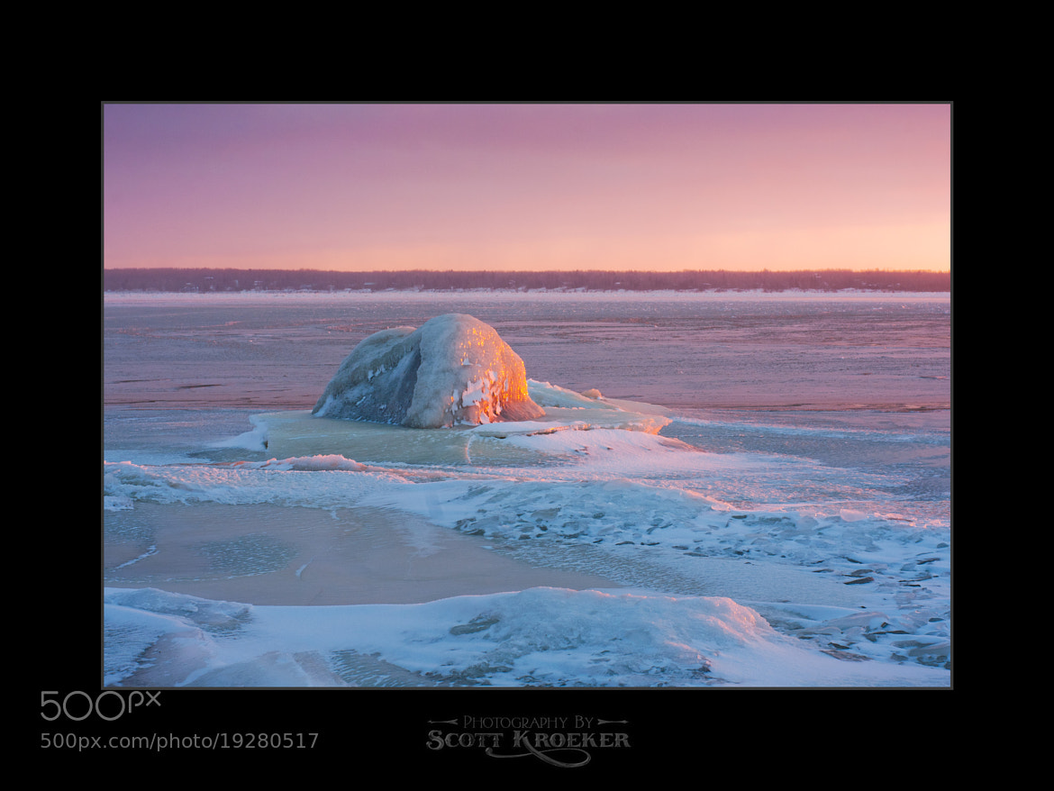 Photograph Ice Blob by Scott Kroeker on 500px
