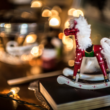 Christmas Horse 4262, Canon EOS-1D X MARK II, Canon EF 50mm f/1.0L