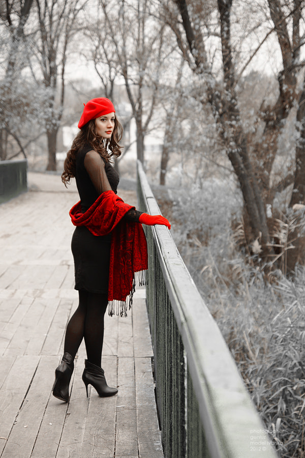 Photograph Chaperon Rouge by Alexander Mihailov on 500px