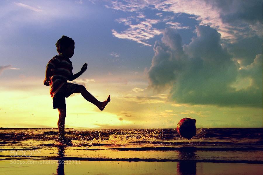 Photograph sunset kick by 3 Joko on 500px