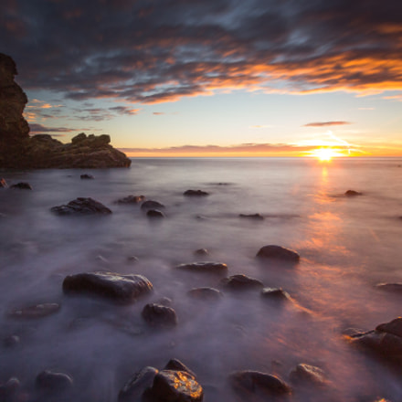 Sunrise at Muchalls