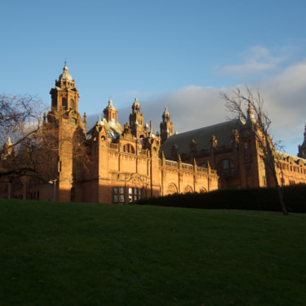 The Kelvingrove Art Gallery, Nikon COOLPIX P7800