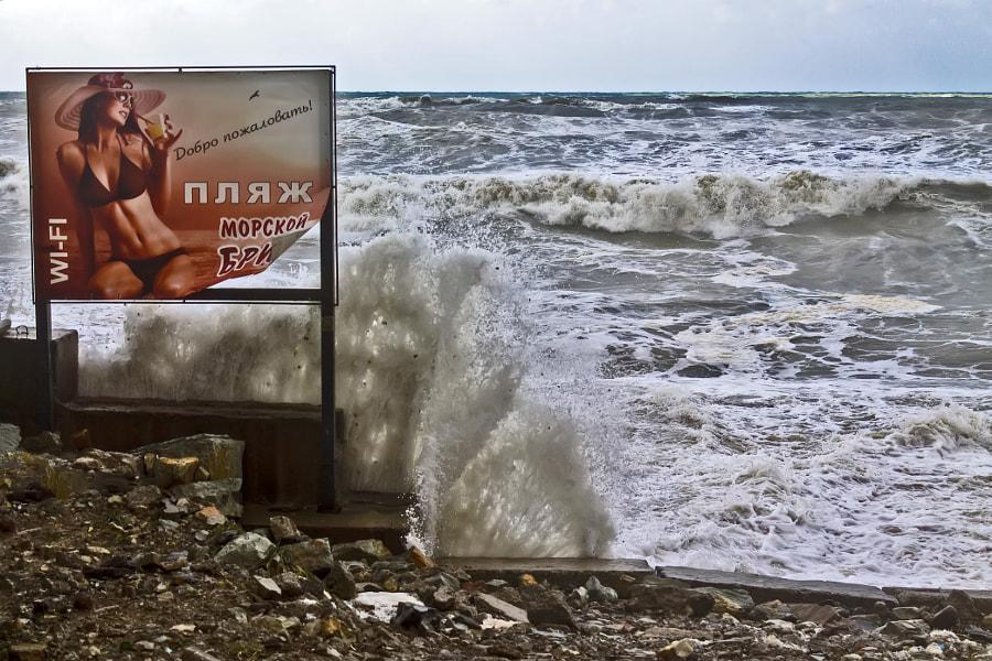 Добро пожаловать на пляж!, автор — Andrei Butorin на 500px.com