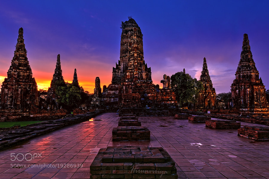 Photograph Chaiwatthanaram temple,Ayuthaya,Thailand by Jakkaphan Hirunviriya on 500px