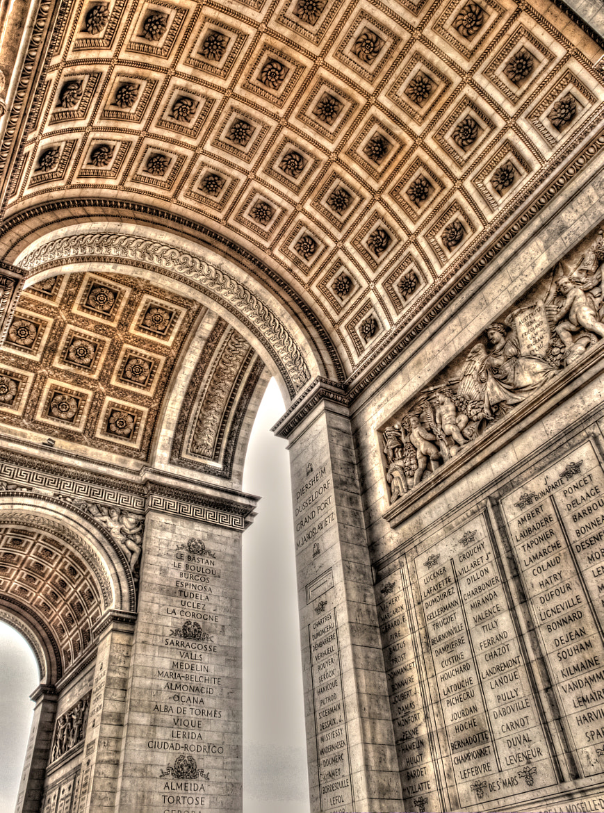 Photograph Arc de Triomphe by Colin Irwin on 500px