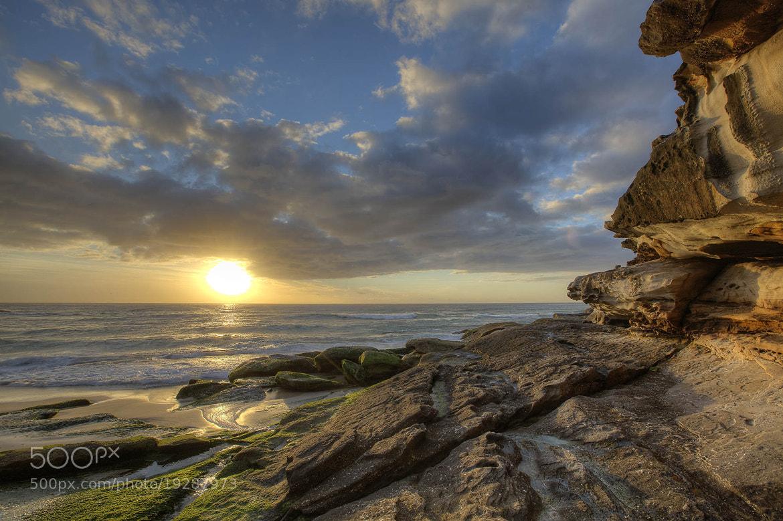 Photograph Tamarama cliffs by Dr Nasseem Malouf on 500px