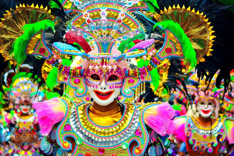 Photograph Masskara Festival by Wilfredo Lumagbas Jr. on 500px