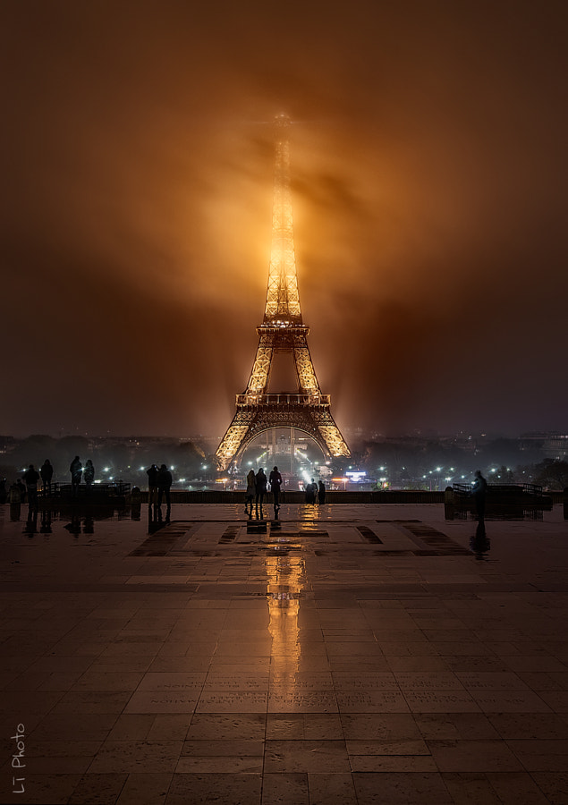 Photograph Foggy Night by Javier de la Torre on 500px