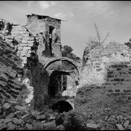 Руины замка в Гольшанах