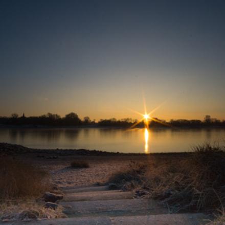 Sunrise over the Rhine