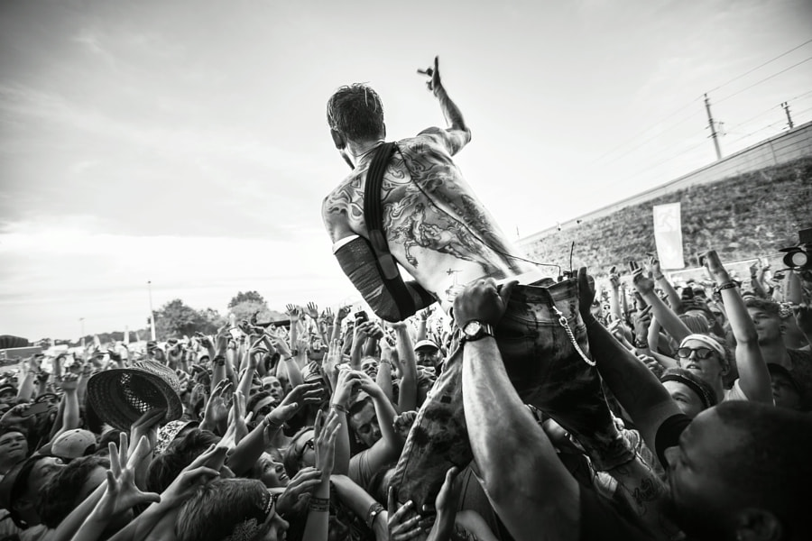 Photo Pass - Machine Gun Kelly by Red Bull Photography on 500px.com