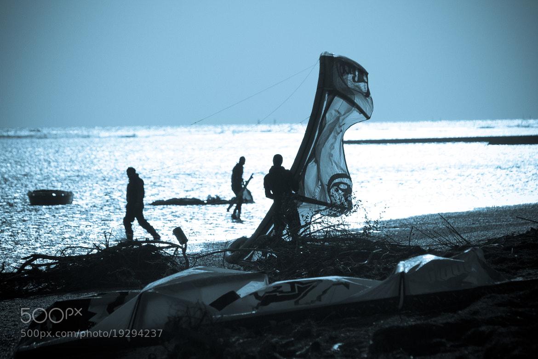 Photograph kitesurf by Fabrizio Gallinaro on 500px