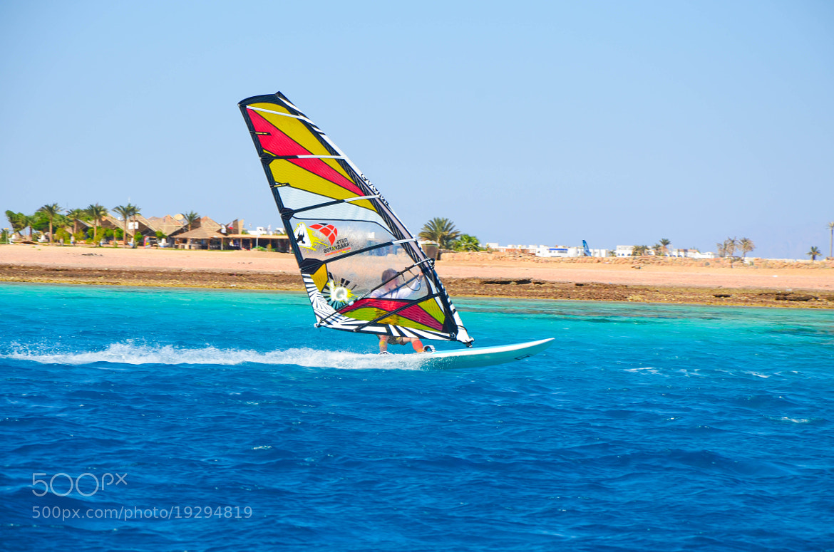 Photograph Windsurfing by Mohamed Raouf on 500px