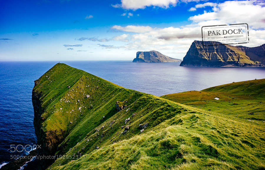 A man in Kalsoy - Faroe Islands