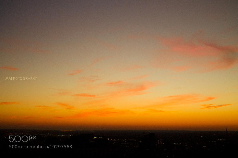 Photograph Philadelphia sunset 2 by Mai Fotography on 500px