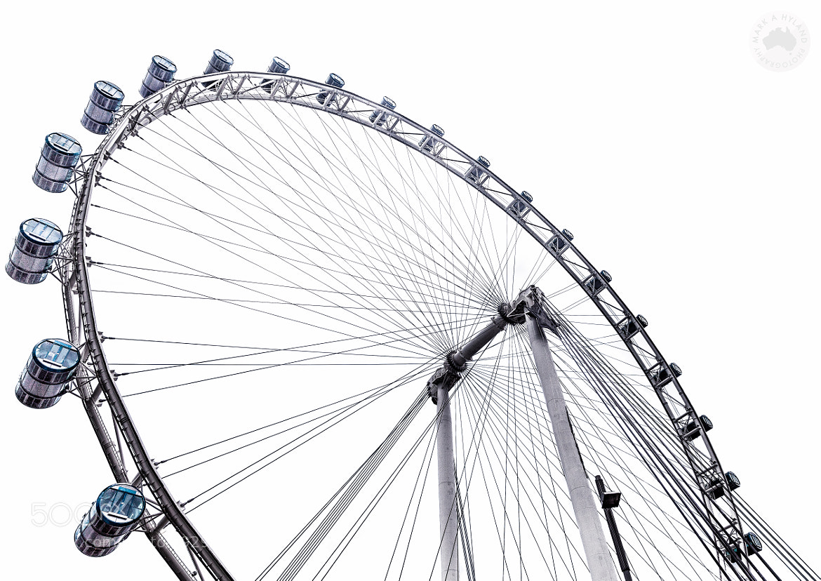 Photograph Singapore Flyer by Mark Hyland on 500px