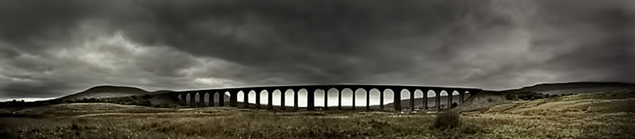 Photograph Ribblehead Viaduct Panorama by Richard Tierney on 500px