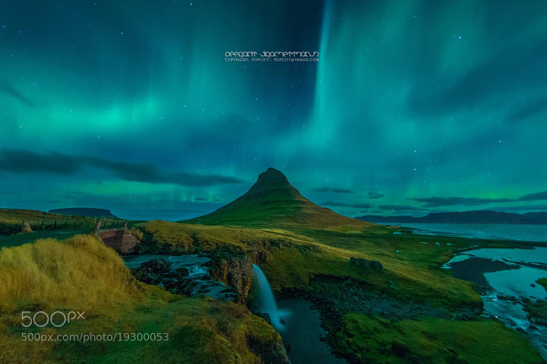 Photograph Blue Aurora Burst by Peerakit Jirachetthakun 5392 on 500px