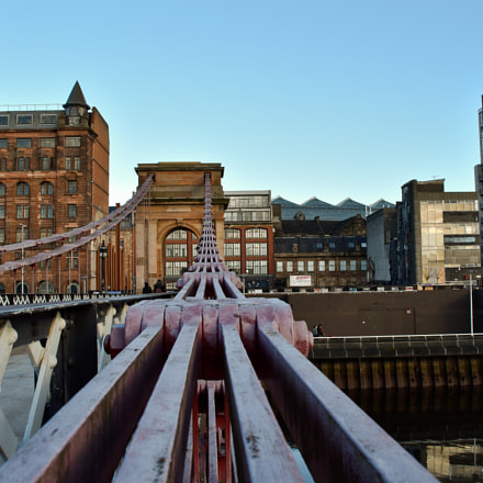 Portland St Suspension Bridge, Nikon D5500