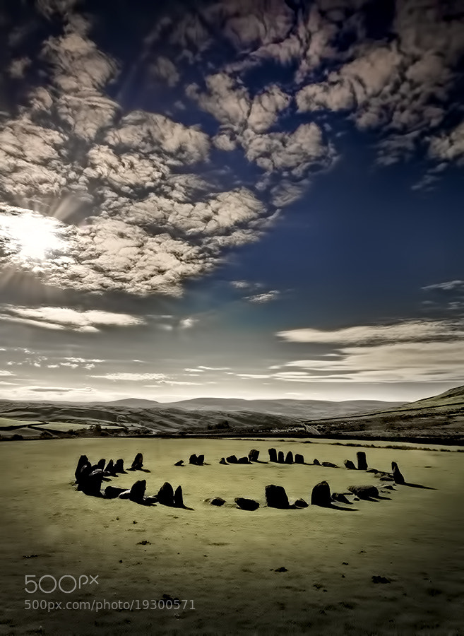 Photograph Swinsehead Stone Circle by Richard Tierney on 500px